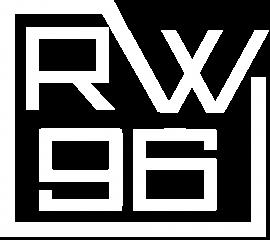 RW96 Logo - white